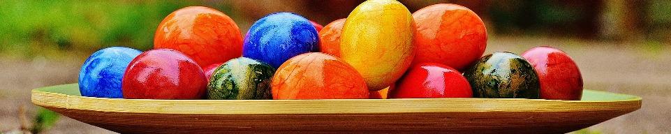 Раскрась пасхальное яйцо